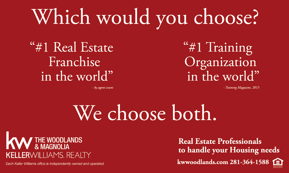 Become a Real Estate Agent - Keller Williams - The Woodlands